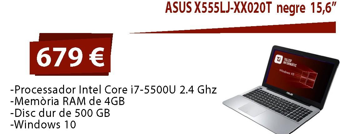 asus X555LJ-XX020T